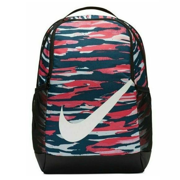 New Nike Backpack Travel Gym School Bag
